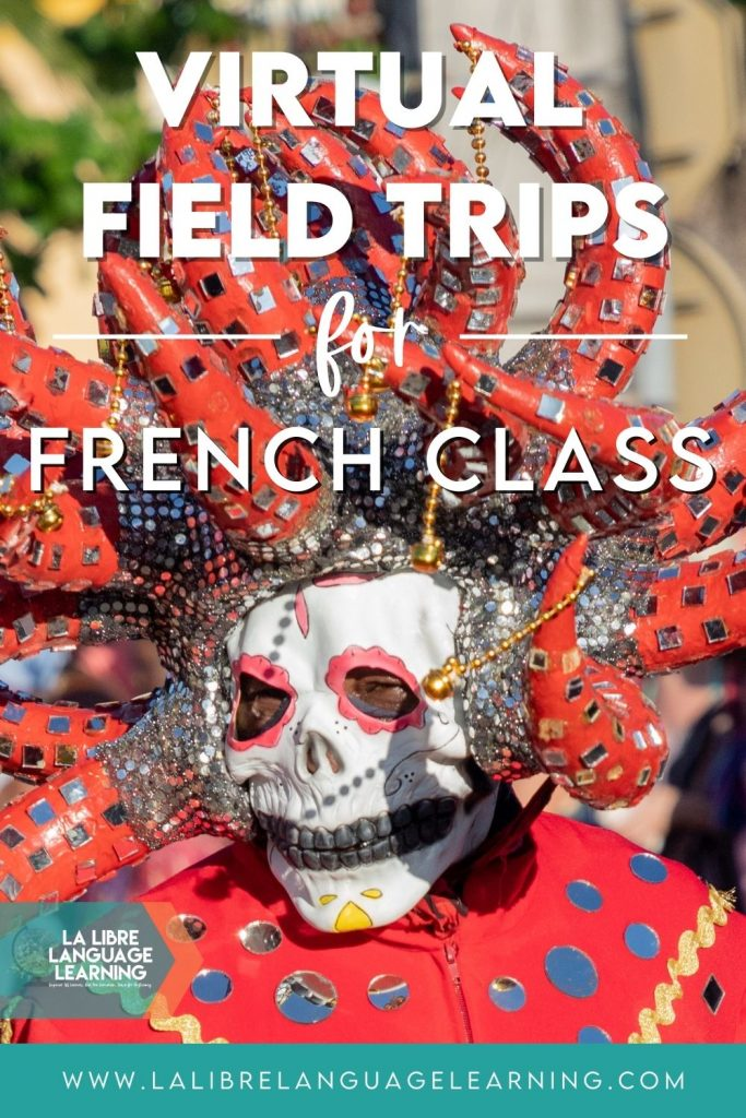 virtual field trips french class, carnaval in martinique