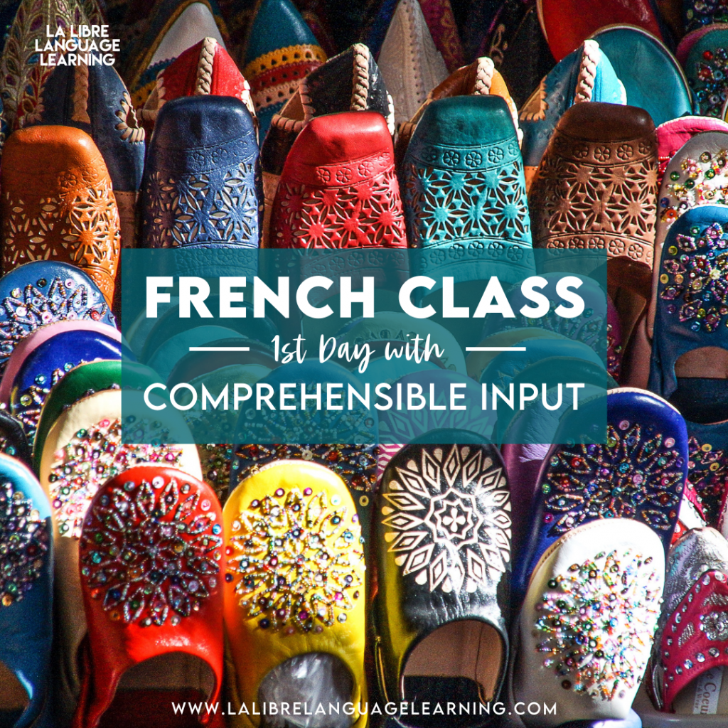 french-class-first-week