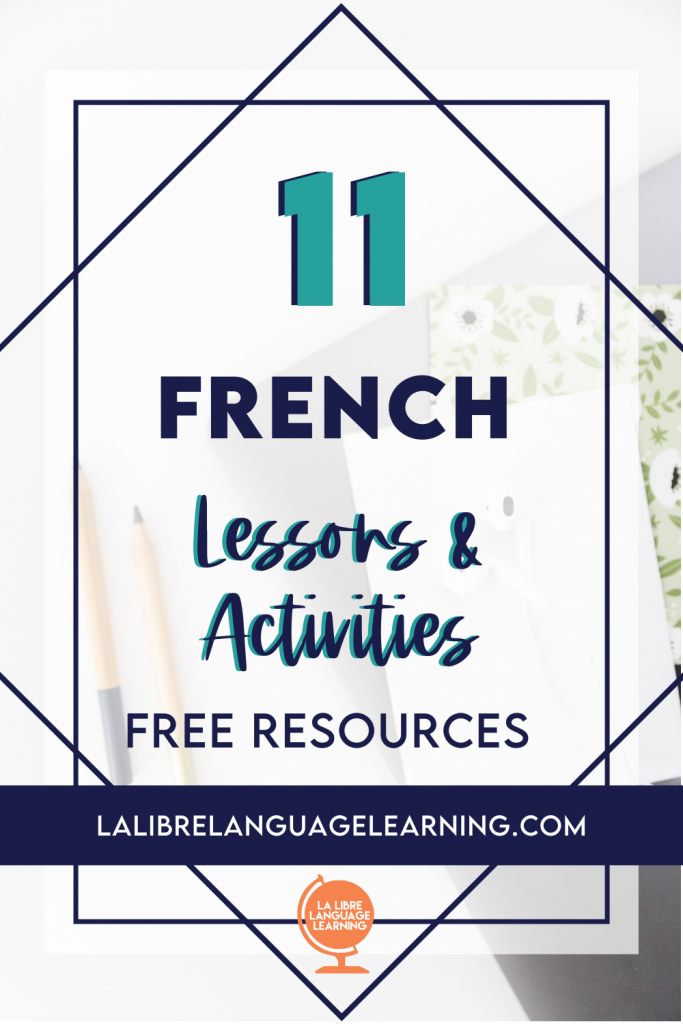 french-lesson-plans